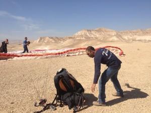 paragliding prep