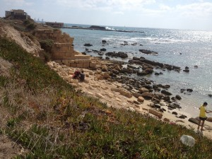 Findings at Caesarea