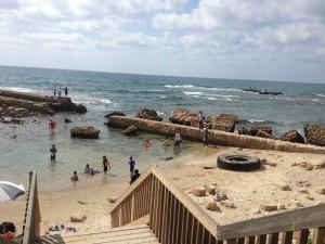 Caesarea Beach Ramadan