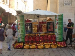 Jerusalem Fruit drinks