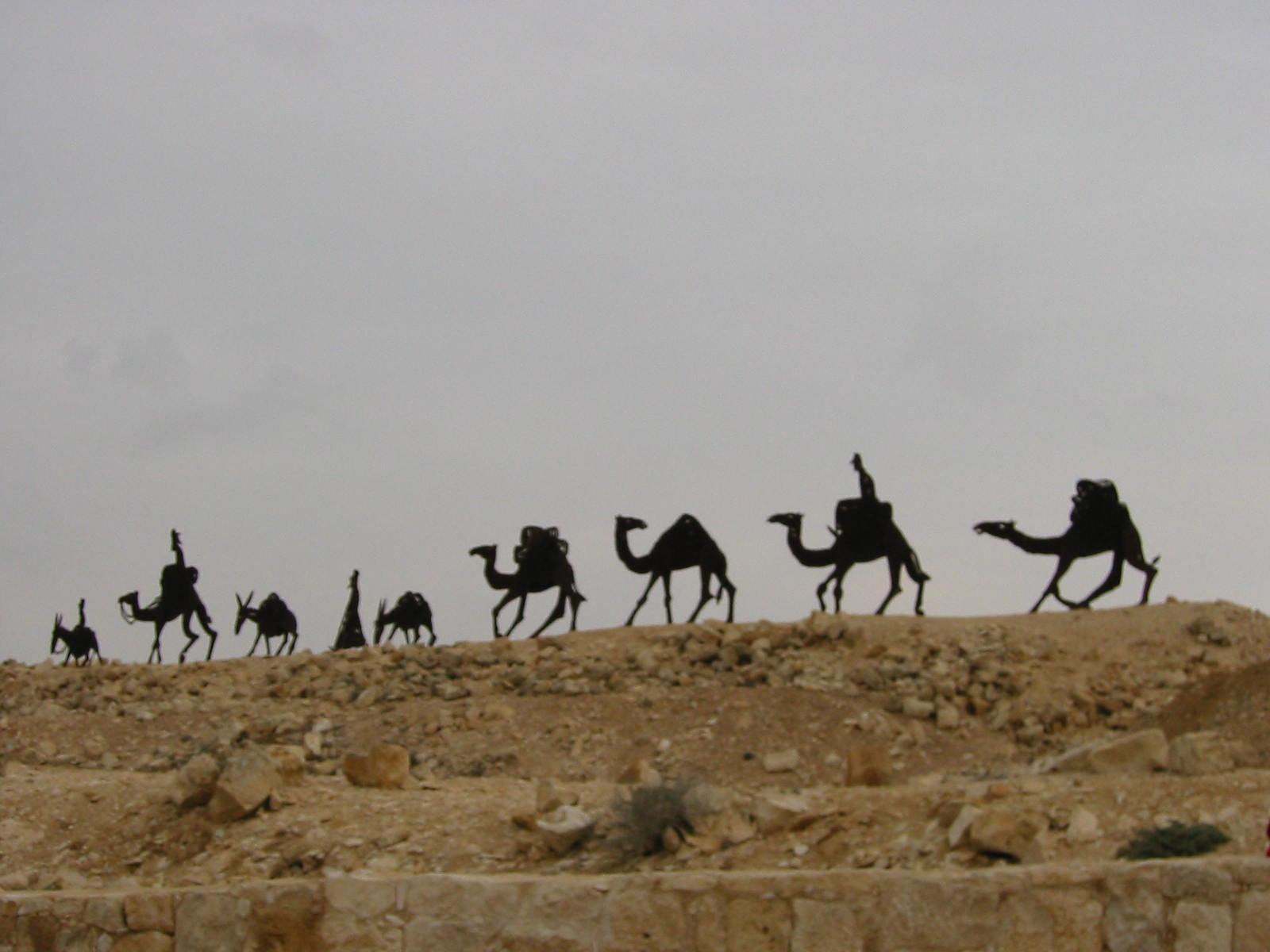 avdat_camel_caravan