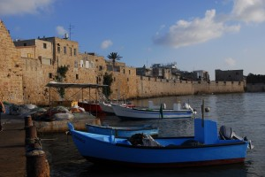 Acre - the fishing port