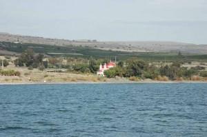 Capernaum from Lake