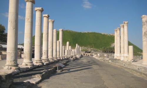 Columns Beit Sean
