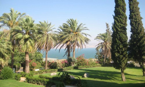 View from Mt of Beatitudes