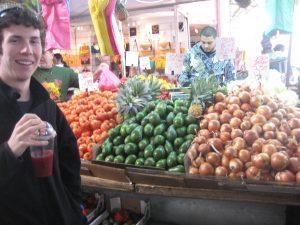 Carmel Market Stalls Tel Aviv